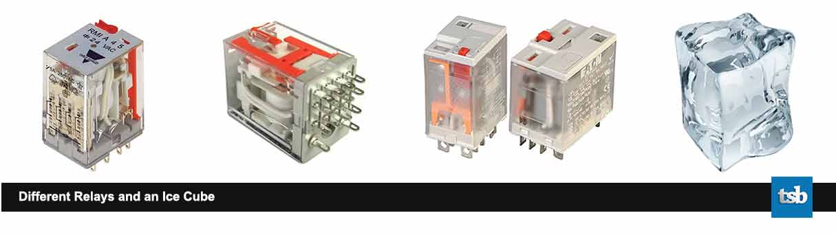 Different Relays and Ice Cube