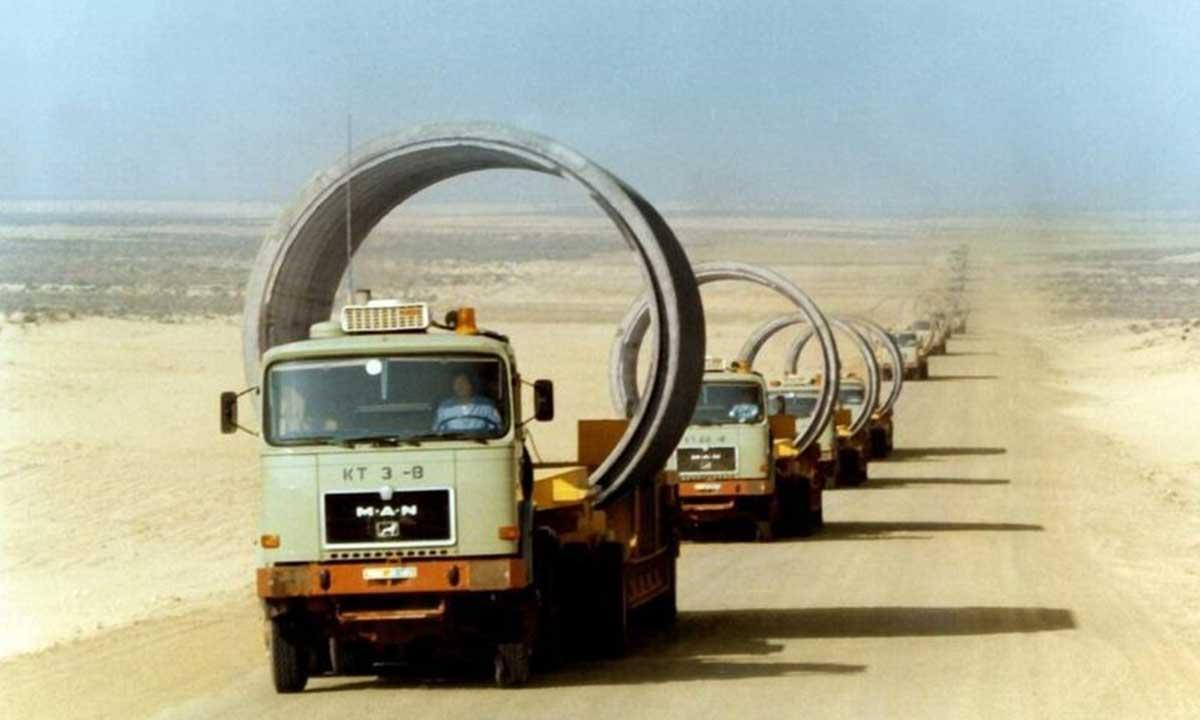 Fleet of more than one hundred transporters traveled a distance equal to that between the Earth and Sun.